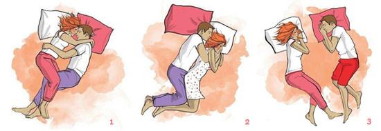 редкие позы сна для пары эффектно